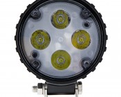 """4"""" Round 10W Super Duty High Powered LED Spot Light: Front View"""