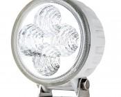 "3.25"" Round 12W Heavy Duty High Powered LED Work Light - White"