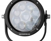 "LED Golf Cart Light - 5-1/2"" Round - 45W: Front View"