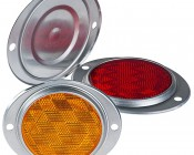 Round Flush Truck/Trailer Reflector