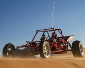 """36"""" Heavy Duty Off Road LED Light Bar - 234W: Shown Installed On A Dune Buggy"""