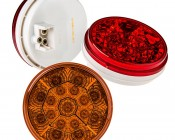 """Round LED Truck Trailer Light - 4"""" LED Stop Turn Tail Light with 17 LEDs"""