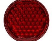 ST series Round Stop/Tail/Turn LED Truck Lamp: Front View
