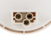 ST-HB17 series High Brightness Round Stop/Tail/Turn LED Truck Lamp: Close Up Of Power Connector Points