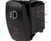 LED Rocker Switch with Legend - Fog Lights Switch