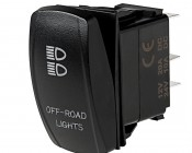 RS-x - LED Rocker Switch with Legends