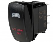 LED Rocker Switch with Legend - LED Light Bar Switch