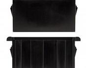 Modular Rocker Switch Bracket - End Panel: Profile View