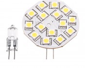 15HP-LED Disc G4 White Lamp with Incandescent Equivalent Bulb