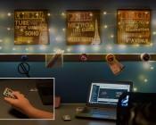 USB LED Fairy Lights w/ Remote Control - Copper Wire - 32': Illuminated Via USB Install