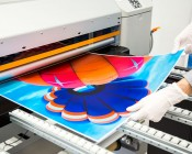 Skylens™ Fluorescent Light Diffuser - Balloon 1 Decorative Light Cover - 2' x 2'': Panel Being Printed At SBL!