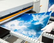 Skylens™ Fluorescent Light Diffuser - Sun Beams Decorative Light Cover - 2' x 2'': Panel Being Printed At SBL!
