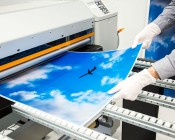 Skylens™ Fluorescent Light Diffuser - Jet Set Decorative Light Cover - 2' x 2'': Panel Being Printed At SBL!