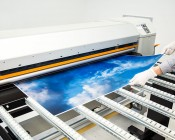 Skylens™ Fluorescent Light Diffuser - Summer Sky Decorative Light Cover - 2' x 4'': Panel Being Printed At SBL!
