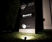 30 Watt Knuckle-Mount LED Spotlight - Bullet Style - 2,900 Lumens: Illuminating A Building Sign