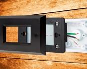 12V LED Deck Lights - Window Rectangular Deck Accent Light with Faceplate - 55 Lumens: Taken Apart