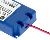 Magnitude Dimmable LED Driver - Constant Voltage - 20-40W - 24 Volt: Wire Shown Attached To Powercord