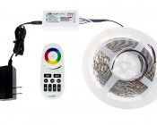 Smartphone or Tablet WiFi Compatible RGB+White Auto Sync Controller w/ RF Remote: Connected