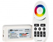 Smartphone or Tablet WiFi Compatible RGB+White Auto Sync Controller w/ RF Remote