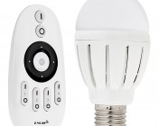 Wi-Fi Adjustable Light Bulb - White Light Selection Technology - 6W Dimmable LED Bulb and RF Remote