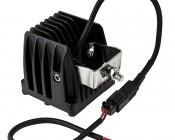 "3"" Square 15 Watt LED Mini Auxiliary Work Light: Back View"