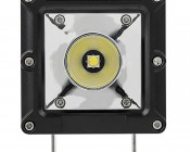 """3"""" Square 15 Watt LED Mini Auxiliary Work Light: Front View"""