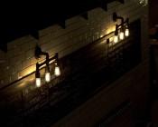 ST18 LED Filament Bulb - 55 Watt Equivalent Vintage Light Bulb - Dimmable - 537 Lumens: Illuminating Brewery Menu