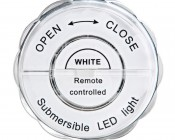 Submersible LED Accent Light with Infrared Remote: Back View
