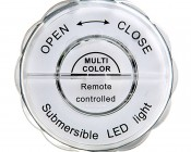 Submersible LED Accent Light w/ Infrared Remote: Back View