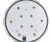Submersible LED Accent Light w/ Infrared Remote: Front View