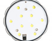 Submersible LED Accent Light with Infrared Remote: Front View