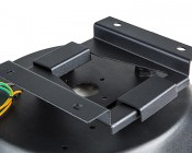 Surface Mounting Kit for Modular LED High Bay Light - MD-SM2: Attached To High Bay Light
