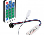 SWDC series Dream-Color Chasing RGB Controller and RF Remote