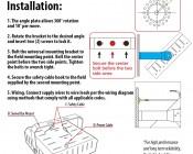 Swivel Bar Mount Kit for MD series Modular LED High Bay Light