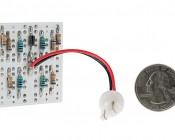 T3.25 LED Bulb - 24 LED PCB Lamp - Miniature Wedge Retrofit: Back View