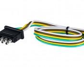 TC-4CMPT 4-Wire Male Trailer Light Connector