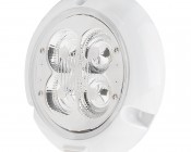 Round Dome Light LED Fixture with Rocker Switch