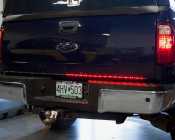LED Tailgate Light Bar - 4-Pin Connector: Turn Signal On
