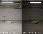 60W LED Shop Light/Garage Light - 4' Long - 7,500 Lumens