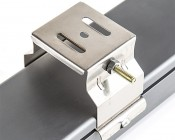 Mounting Brackets for Linkable Linear LED Light Fixtures: Attached to Back of Light Fixture