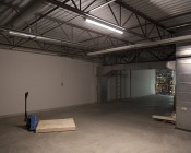 40W Linkable Linear LED Strip Light Fixture - Industrial LED Light - 4' Long - 4,000 Lumens: Illuminated In Work Space