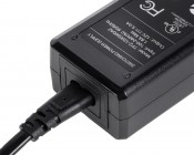 Desktop AC Adapter - 12 VDC Switching Power Supply - 60W - Power Plug