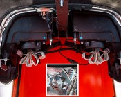 LED Headlight Kit - H4 LED Headlight Bulbs Conversion Kit with Flexible Tinned Copper Braid: Installed on Tractor