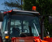 "40"" Off Road LED Light Bar - 120W: Installed on Tractor"
