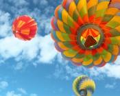 LED Skylight w/ Balloon 3 Skylens® - 2x4 Dimmable LED Panel Light - Flush Mount/Drop Ceiling Recessed Moun