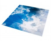 Replacement Diffuser for Dimmable Even-Glow® LED Panel Lights - Sun Beams LUXART® Print - 2' x 2'
