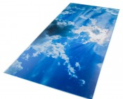 Replacement Diffuser for Dimmable Even-Glow® LED Panel Lights - Sun Beams LUXART® Print - 2' x 4'