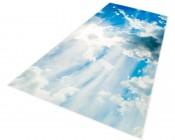 Skylens™ Fluorescent Light Diffuser - Sun Beams Decorative Light Cover - 2' x 4'