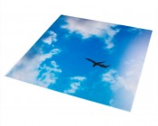 Replacement Diffuser for Non-Dimmable Even-Glow® LED Panel Lights - Jet Set LUXART® Print - 2' x 2'