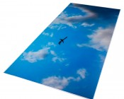 Replacement Diffuser for Dimmable Even-Glow® LED Panel Lights - Jet Set LUXART® Print - 2' x 4'